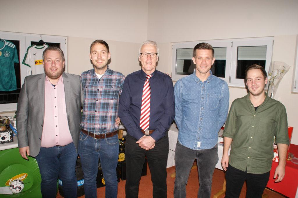 Vorstandschaft: Andreas Schmidt, Raphael Heid, Josef Bergmann, Christian Drescher, Thorsten Endrich